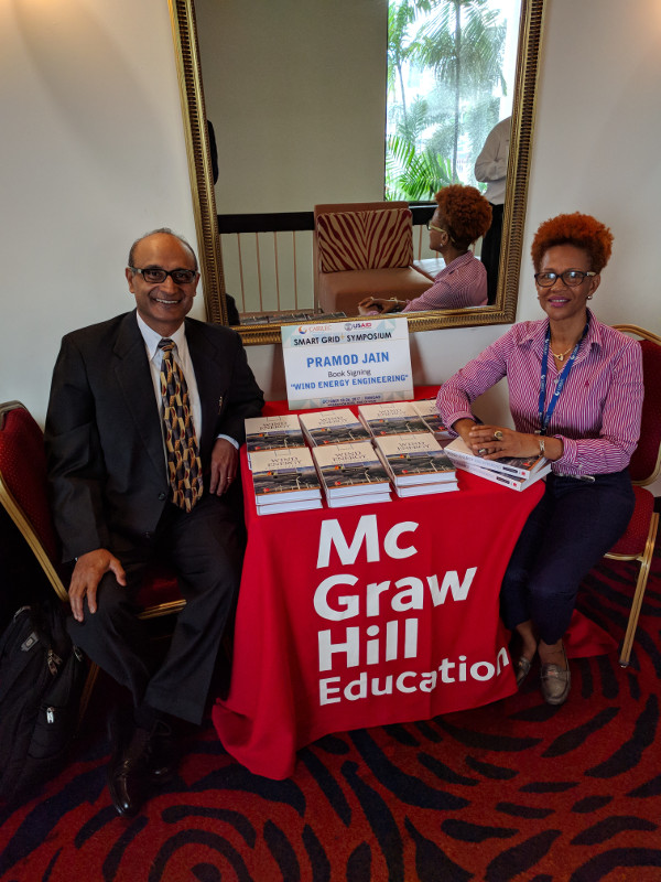 Book signing at CARILEC